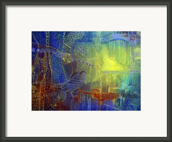 Shadow Of The Dream Iii Framed Print By Lolita Bronzini