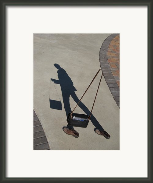 Shadowing Me Framed Print By Nikki Marie Smith