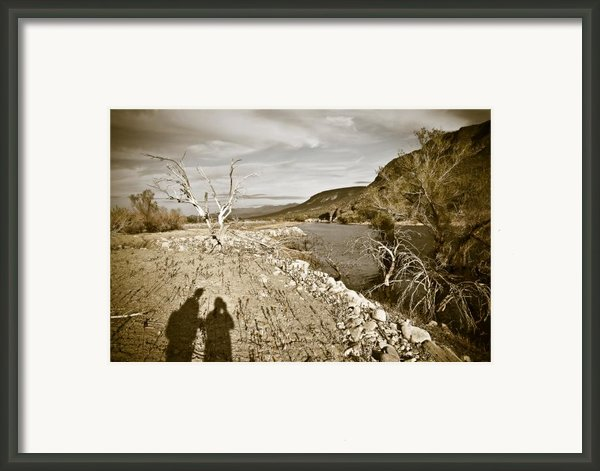 Shadows Lurking Framed Print By Keith Sanders