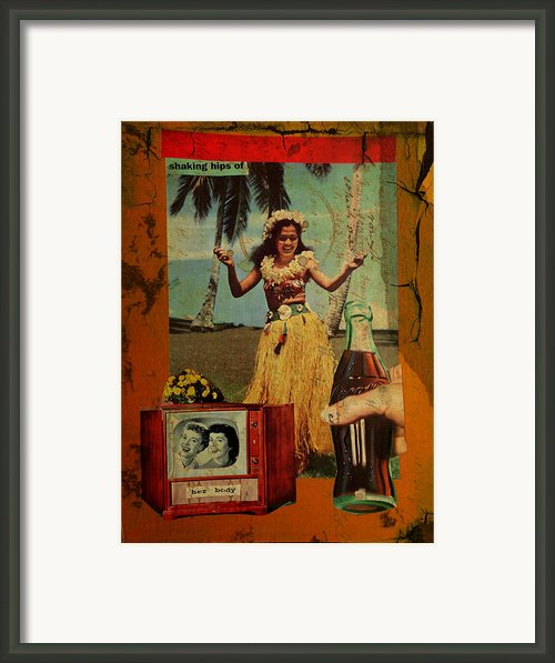 Shaking Hips Framed Print By Adam Kissel