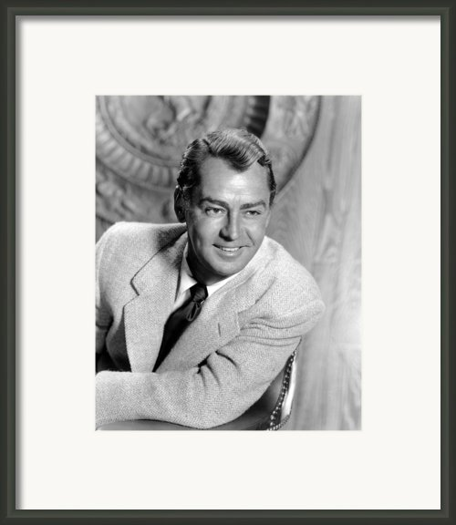 Shane, Alan Ladd, 1953 Framed Print By Everett