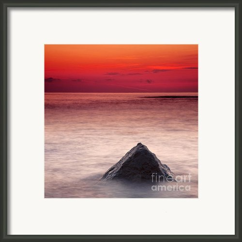 Shark Fin Framed Print By Evgeni Dinev