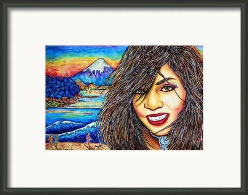 She Survived Framed Print By Joseph Lawrence Vasile