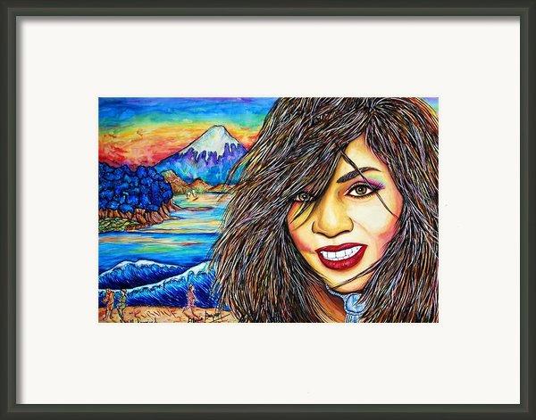 She Survived Framed Print By Joseph Lawrence Vasile