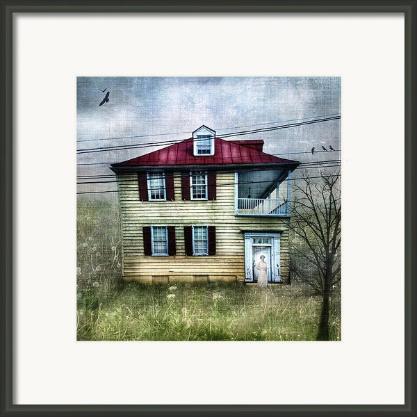 She Waits Framed Print By Laura George