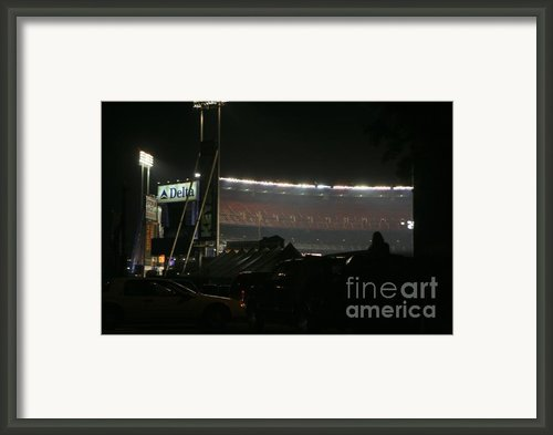 Shea Stadium Framed Print By Chuck Kuhn