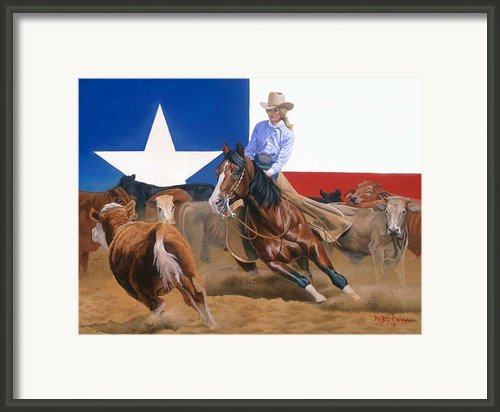 Sheila Welch And Doc-o-leo Framed Print By Howard Dubois