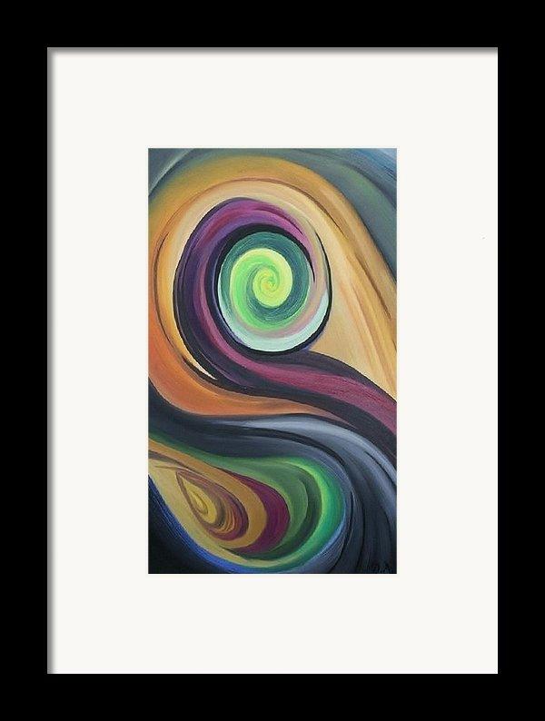 Shift Of Seasons Framed Print By Derya  Aktas