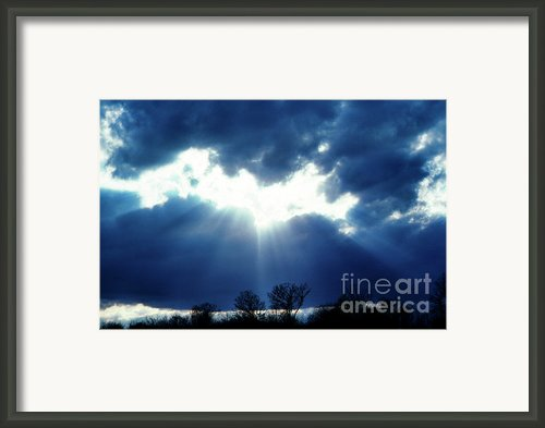 Shining Glory Framed Print By Thomas R Fletcher