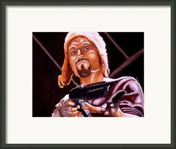 Shiny Lets Be Bad Guys Framed Print By Al  Molina
