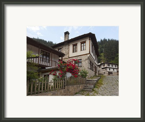 Shiroka Laka Village Framed Print By Evgeni Dinev