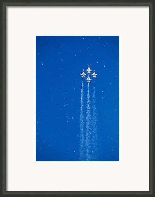 Shooting Stars Framed Print By Paul Ge