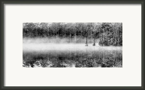 Shrouded Panoramic  Framed Print By Jc Findley
