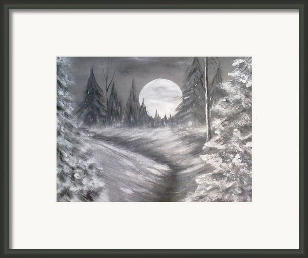 Silent Night  Framed Print By Irina Astley