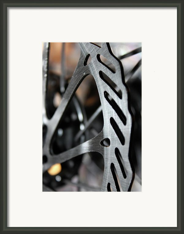 Silver Brake Framed Print By Angie Wingerd