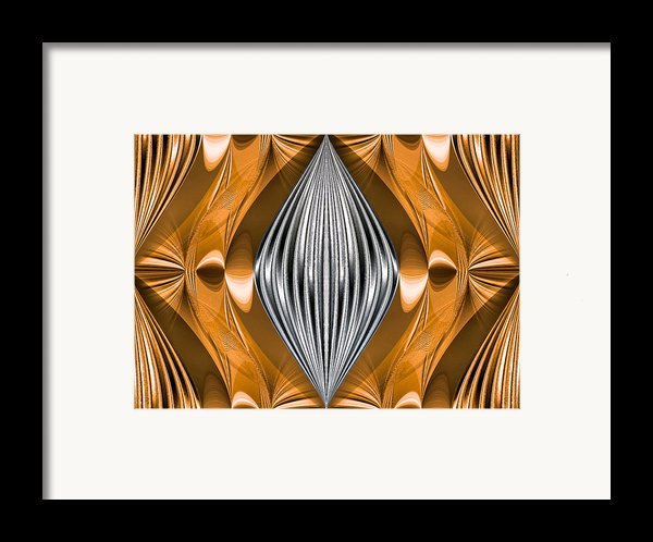 Silver Marquise Engagement Framed Print By Kristin Elmquist
