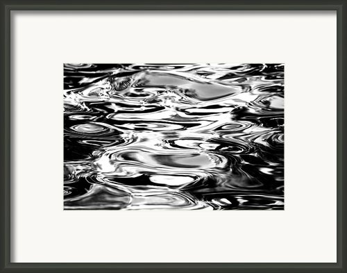 Silvery Water Ripples Framed Print By Dave Fleetham - Printscapes