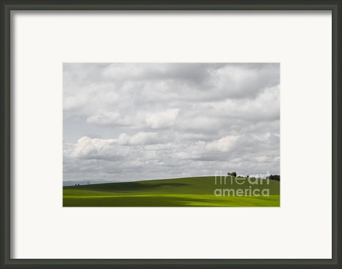 Simple Field Framed Print By Andrea Hazel Ihlefeld