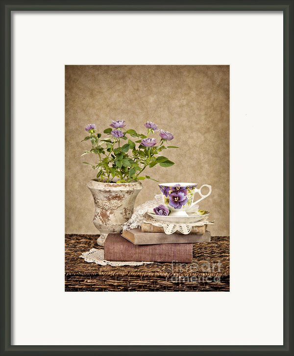 Simple Pleasures Framed Print By Cheryl Davis