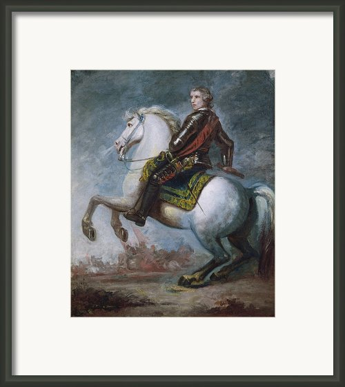 Sir Jeffrey Amherst Framed Print By Sir Joshua Reynolds