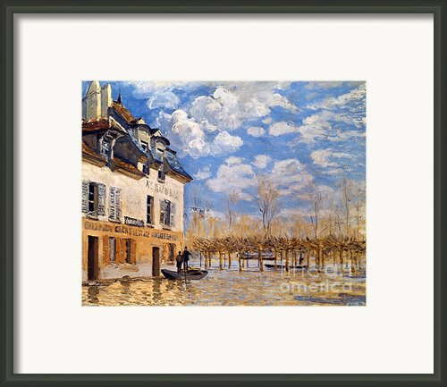 Sisley: Flood, 1876 Framed Print By Granger
