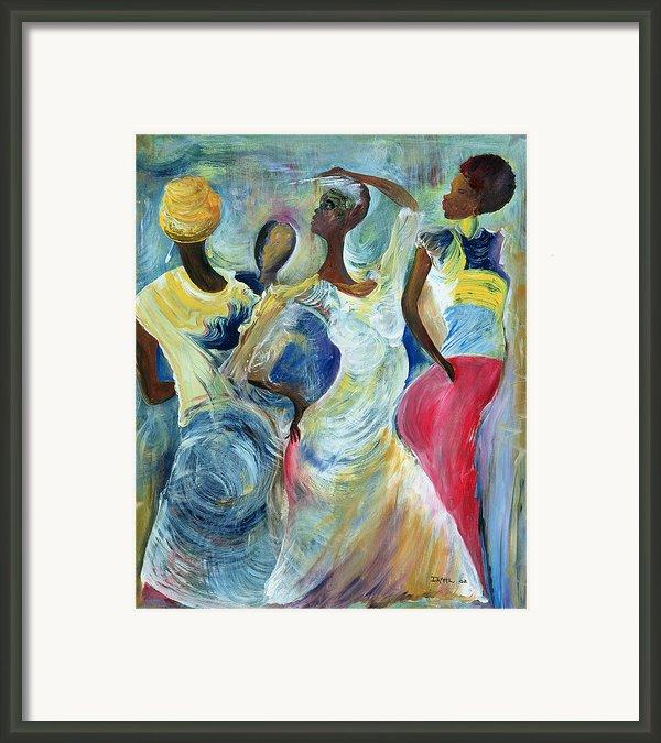 Sister Act Framed Print By Ikahl Beckford