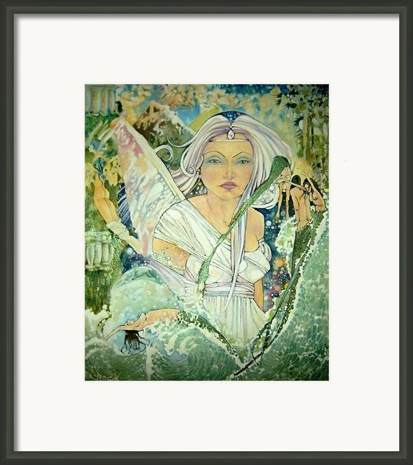 Sister Angel Framed Print By Jackie Rock