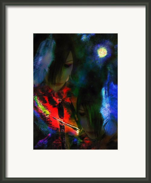 Sister Honoured Framed Print By Michelle Dick