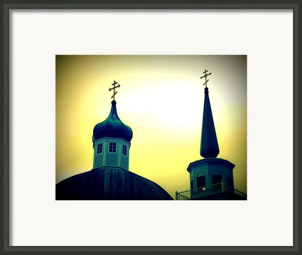 Sitka Russian Orthodox 9 Framed Print By Randall Weidner