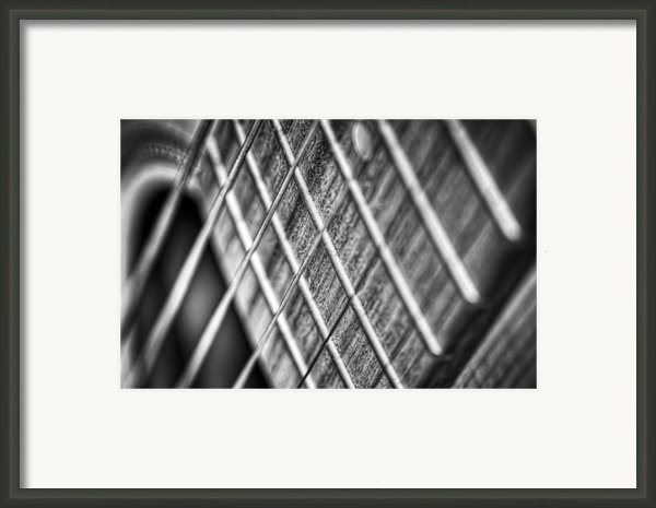 Six Strings Framed Print By Scott Norris