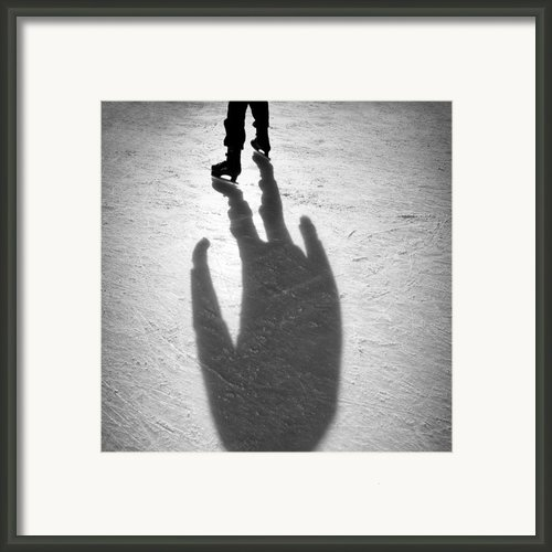 Skater Framed Print By David Bowman