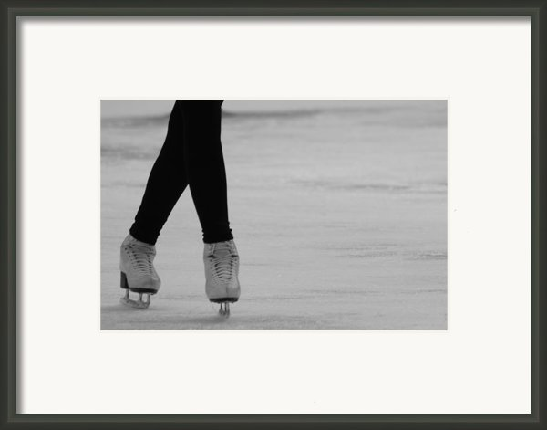Skating Framed Print By Lauri Novak
