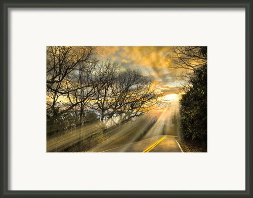 Skeletons At Sunset Framed Print By Debra And Dave Vanderlaan