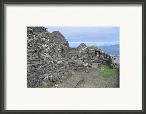 Skellig Michael Framed Print By Amanda Kabat