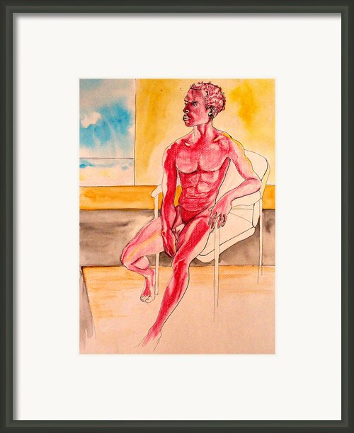Skinless Framed Print By Nina Mirhabibi