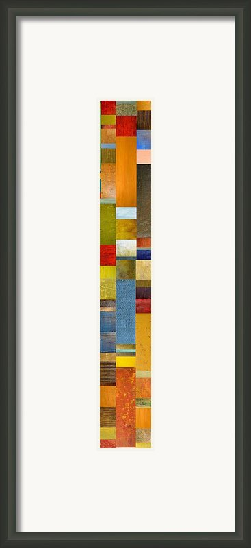 Skinny Color Study Ll Framed Print By Michelle Calkins