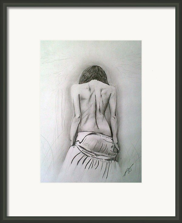 Skirt Ii Framed Print By Paula Steffensen
