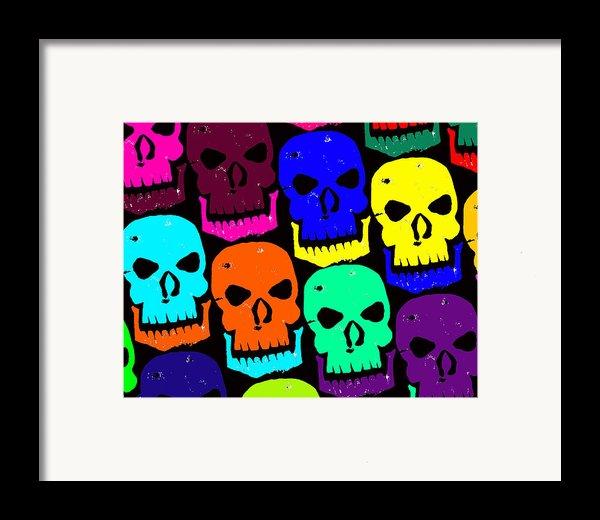 Skulls Framed Print By Jame Hayes
