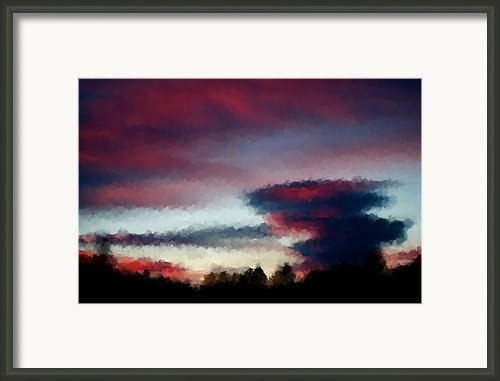 Sky Framed Print By Kevin Bone