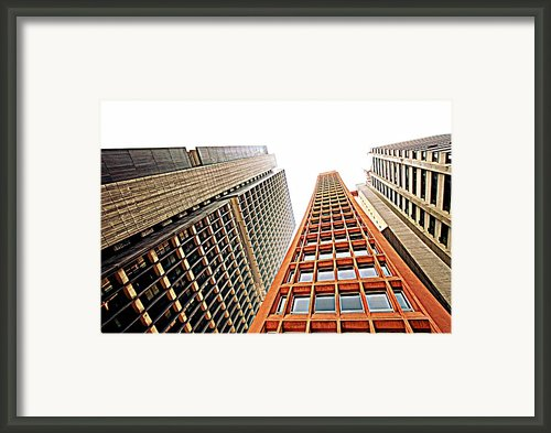 Skyscrapers Framed Print By Luiz Felipe Castro
