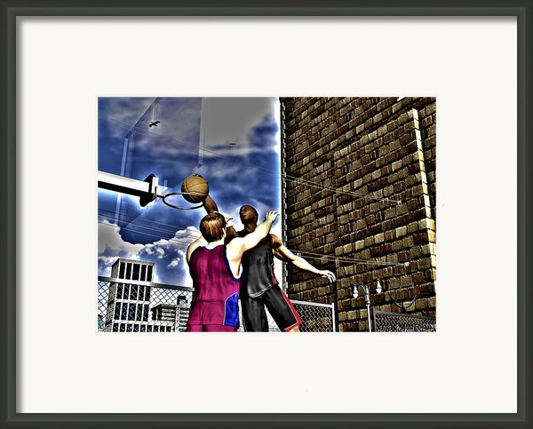 Slammed Framed Print By Michael Stowers