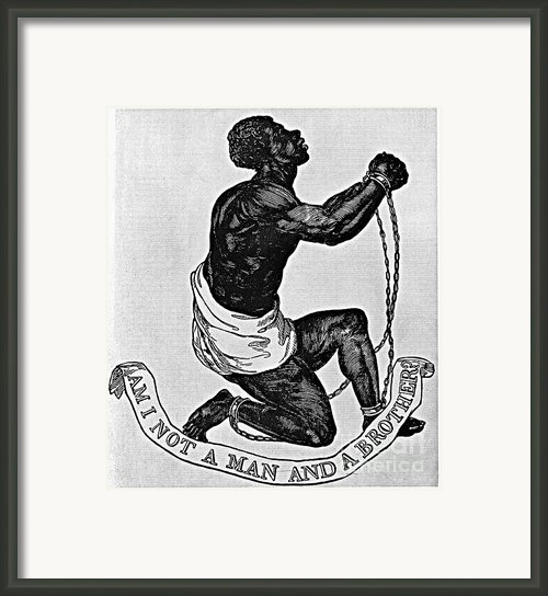 Slavery: Abolition, 1835 Framed Print By Granger