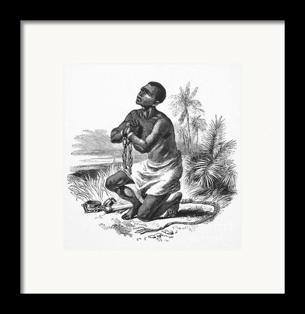 Slavery: Abolition Framed Print By Granger