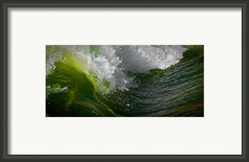 Sleeping Beauty Wave Framed Print By Atom Crawford