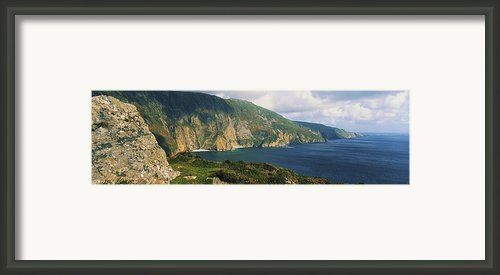 Slieve League, Co Donegal, Ireland Framed Print By The Irish Image Collection