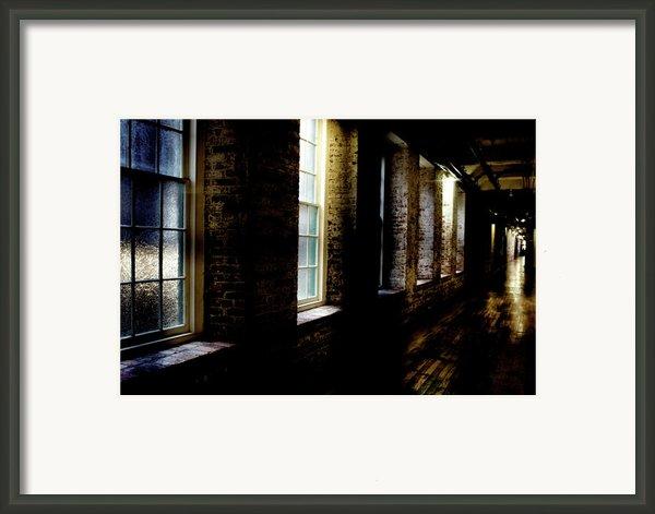 Slit Scan 5 Framed Print By Patrick Biestman