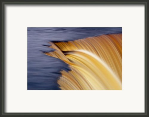 Slow Motion Waterfall Framed Print By Romeo Koitmae