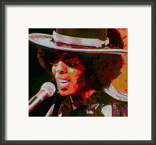 Sly Stone Framed Print By Byron Fli Walker