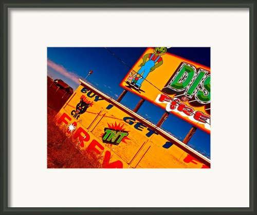 Small Business Last Stand Framed Print By Chuck Taylor