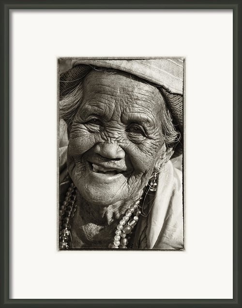Smile Framed Print By Skip Nall